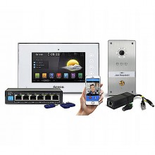 "GR-Z5P (WA) Wideodomofon IP GREON HOME, Android 7"", Podtynk, RFID"